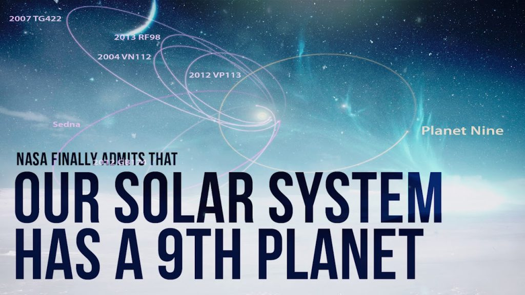 NASA Finally Admits That Our Solar System Has a 9th Planet