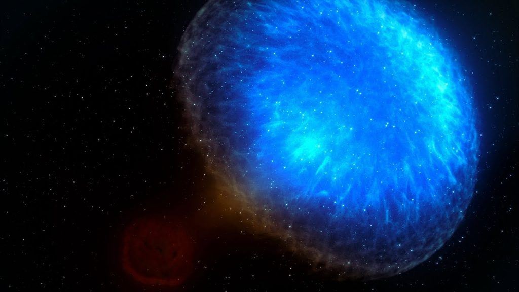 When stars collide: a neutron star death spiral