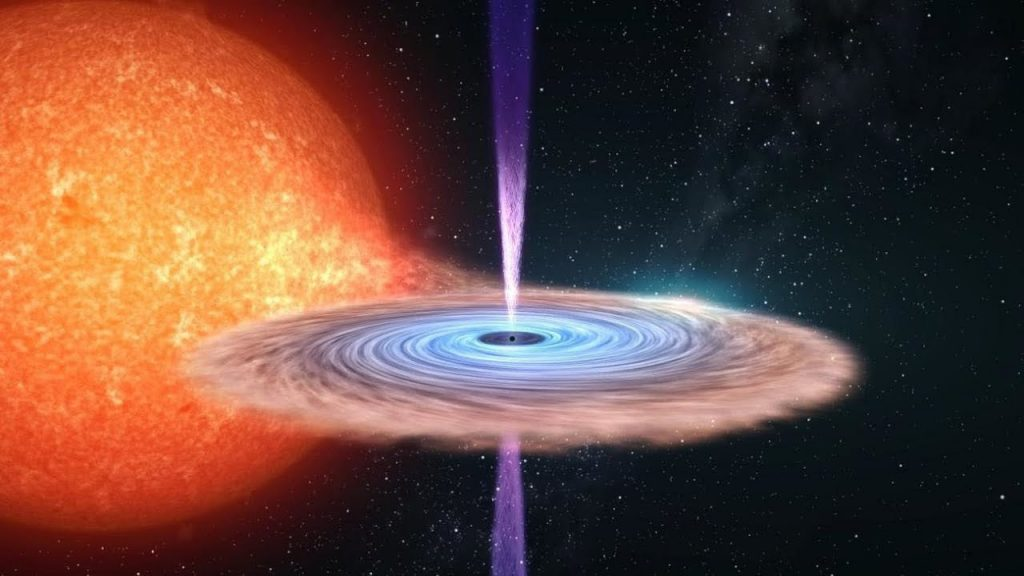 Scientists Penetrate Mystery of Raging Black Hole Beams