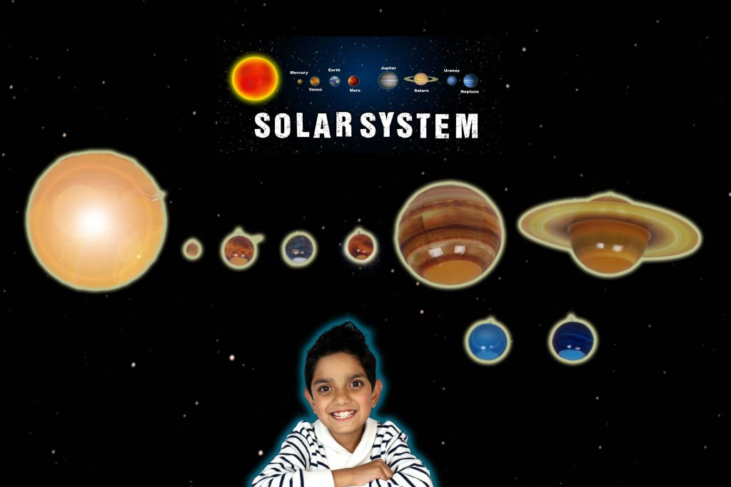 Solar System in my bedroom by Hitzh toys
