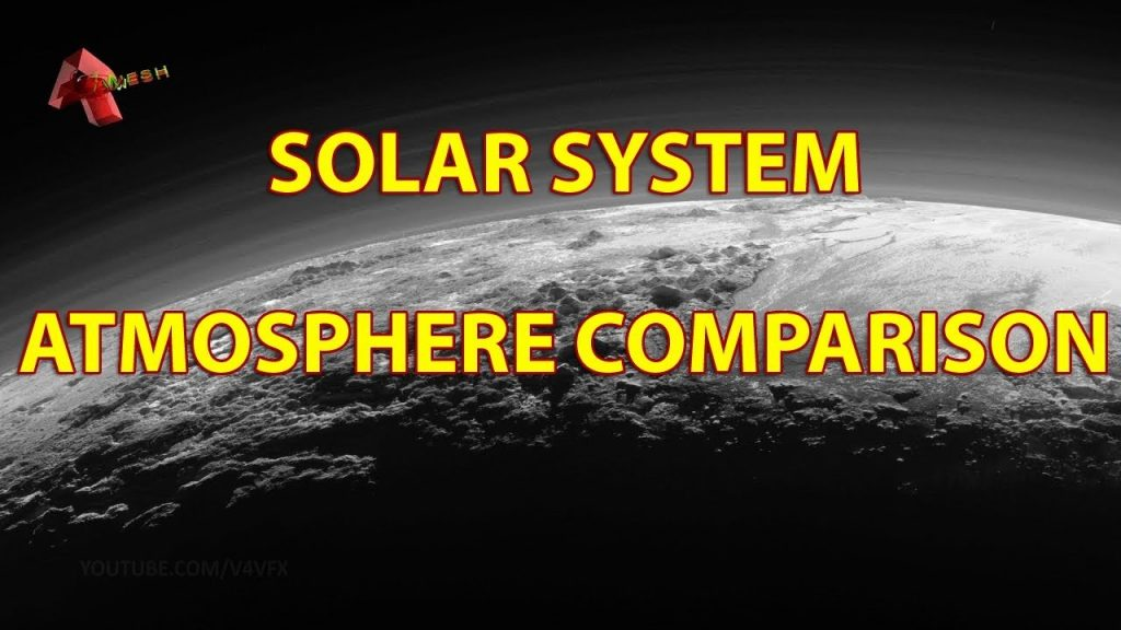 SOLAR SYSTEM ATMOSPHERE COMPARISON!