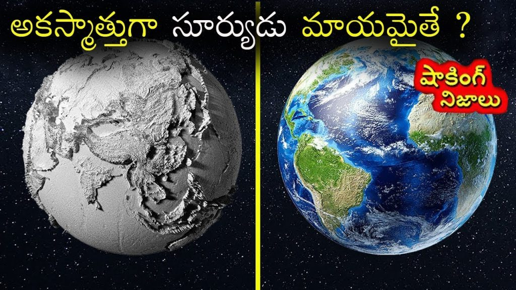 What Happens To Earth If Sun Disappears | Real Shocking Facts Telugu | Star Telugu |