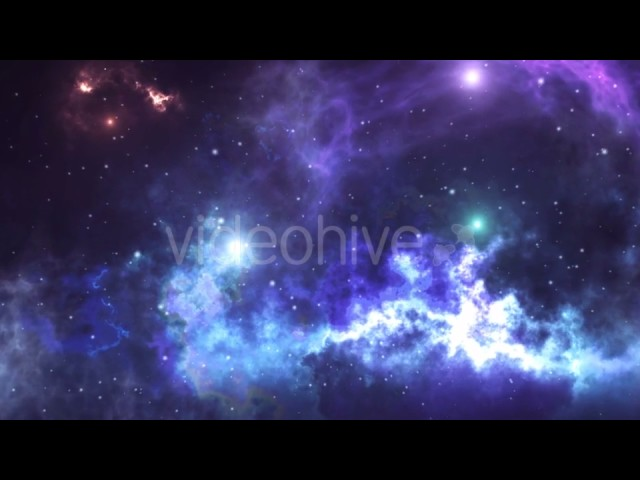 Abstract Sci-fi Video with Space, Galaxies, Nebulae, Stars. | Motion Graphics – Videohive template
