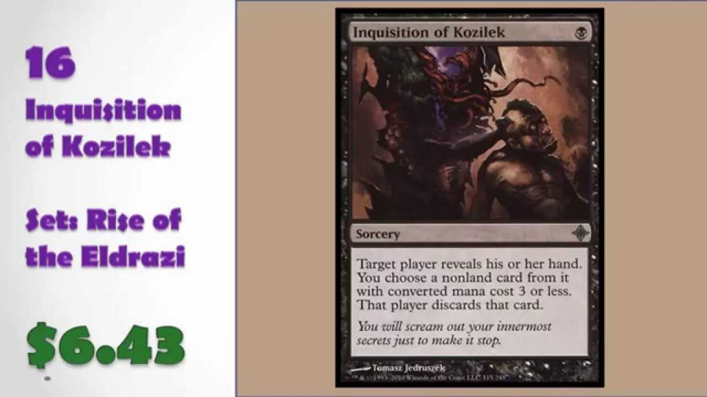 20 Most Valuable UNCOMMONS in MTG – Most Valuable on eBay! Selling Magic: The Gathering Cards