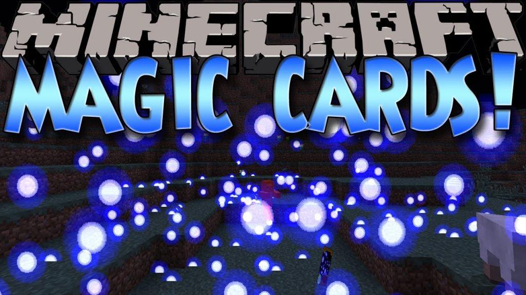 Minecraft Mods: MAGIC CARDS! AMAZING EFFECTS & SPELLS! (1.6.2)
