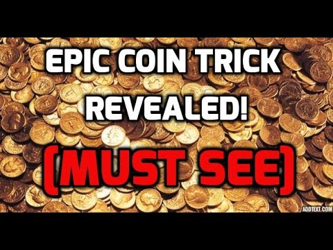 awesome magic coin trick revealed! [MUST SEE] magic tricks with coins! #cointricktutorials