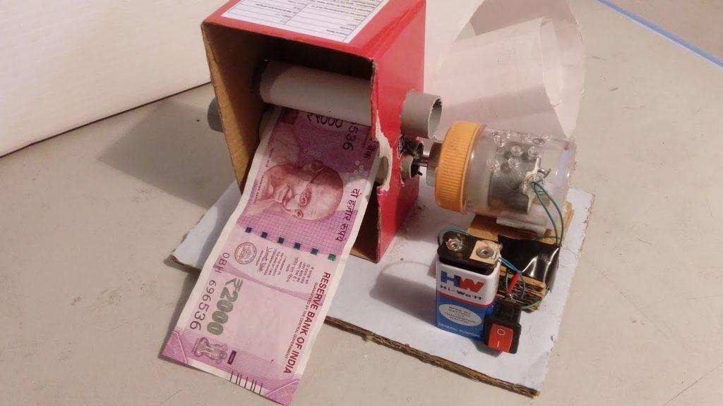 How to Make Money Printer Machine Magic Trick Simple   WEAREX