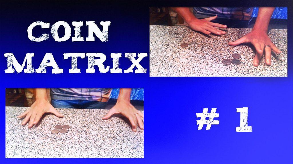 Coin Matrix # 1 Metal 2 by Eric Jones :: Kevin Martino :: magic coins trick
