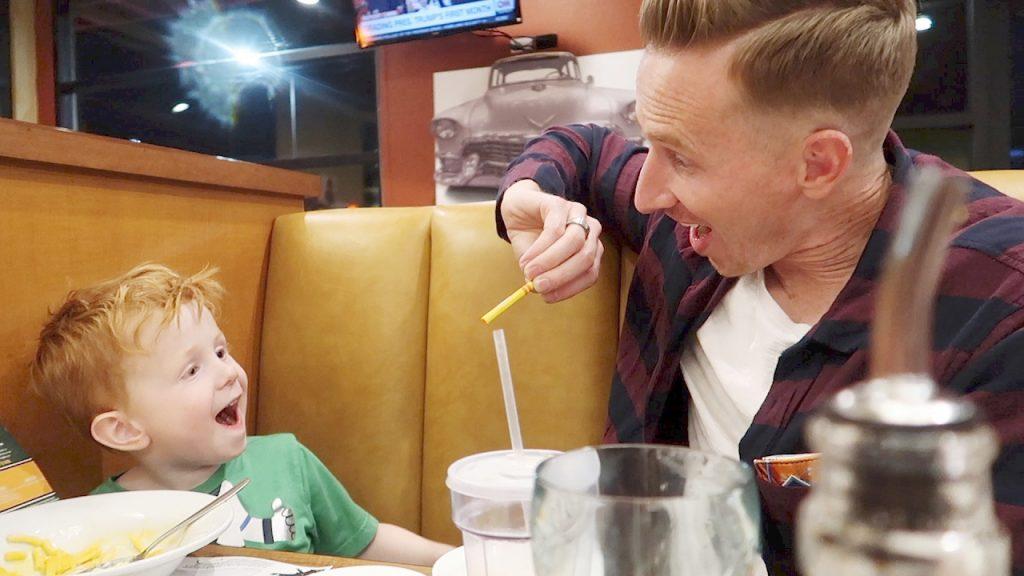 Magic Tricks for Kids at Dinner