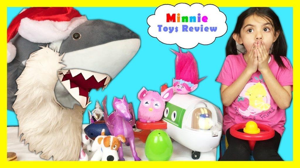 Bad Baby Pet SHARK ATTACKS! – Magic Transforms Into Present! Kid Prank Toy Shark Eat Snack