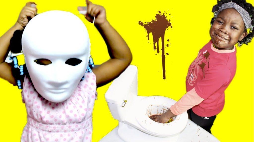 BAD BABY VS SCARY MAGIC MASK !! | family fun vlogs Video!