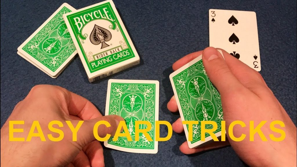 3 BEST CARDS TRICKS – Amazing Card Tricks for Beginners