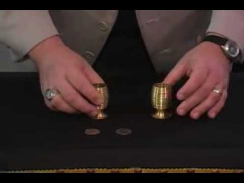 Flying Coins Set (Brass) – Dude That's Cool Magic Tricks