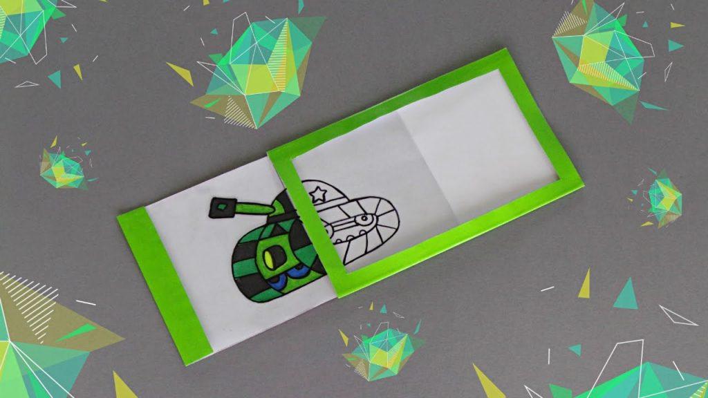 DIY – MAGIC SLIDER CARD – TUTORIAL / CARD MAKING IDEAS