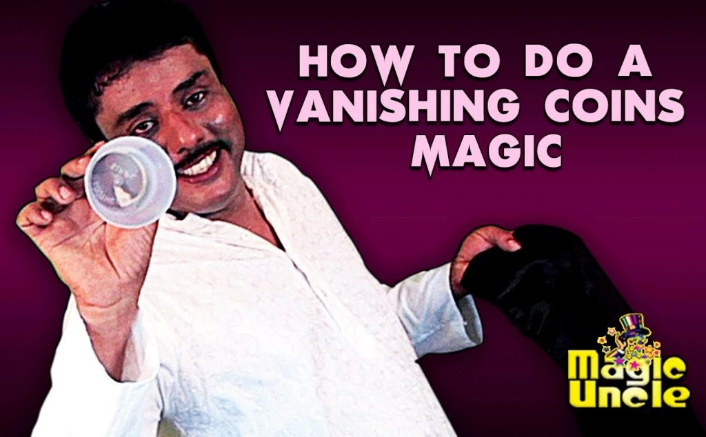 Magic Revealed In Malayalam |-  How to Do A Vanishing Coins Magic