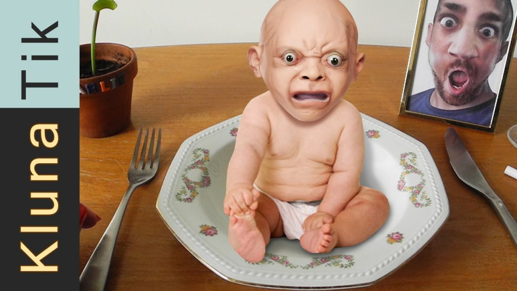 Klunatik having a MAGIC meal part 2!!!  Kluna Tik Dinner #56   ASMR eating sounds no talk