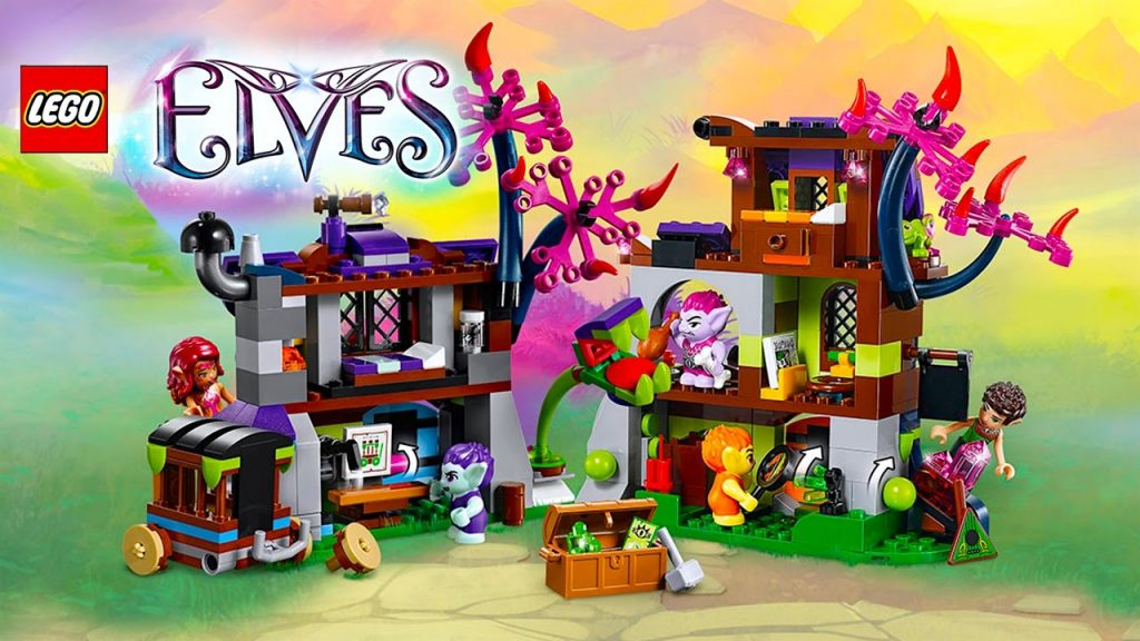 LEGO Elves Magic Rescue from the Goblin Village Build Review Pretend Play Kids Toys
