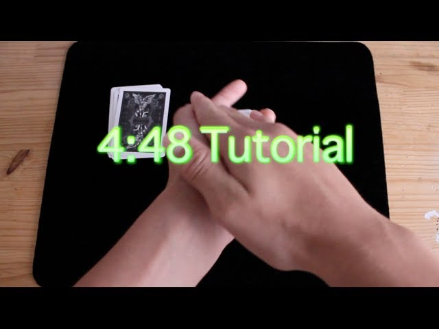 4:48//Card Trick Tutorial