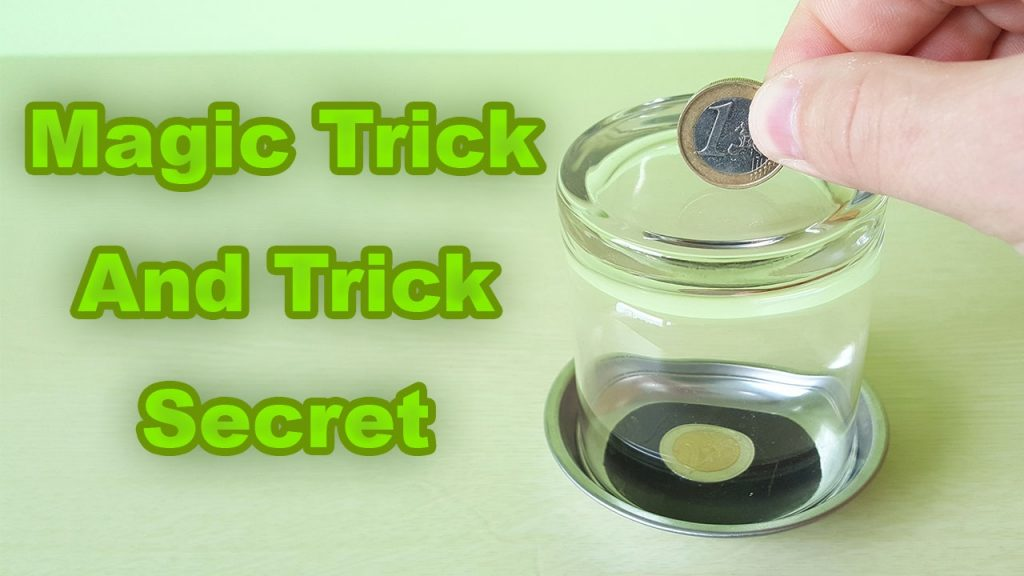 Magic Tricks Cup and Coin Awesome Magic Trick Easy magic trick