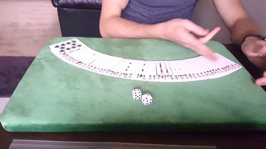 Magic with cards & Dice