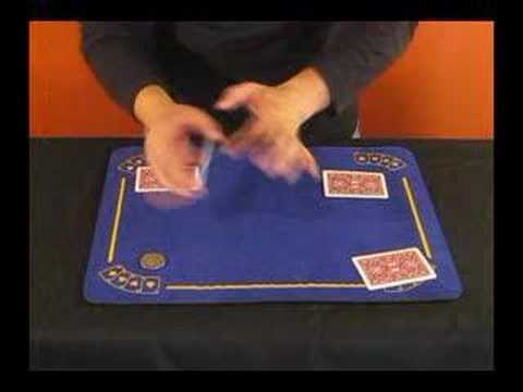 magic coins with cards