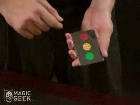 Magic Stop Light Card Trick