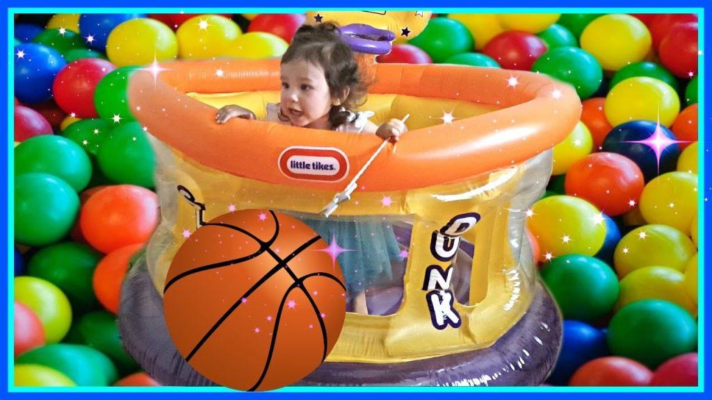 Baby Basketball Kids Transform Spider Balls and Magic Ball Pit Fun