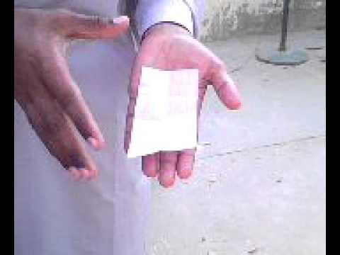 Self Folding Money Magic (Pakistan)