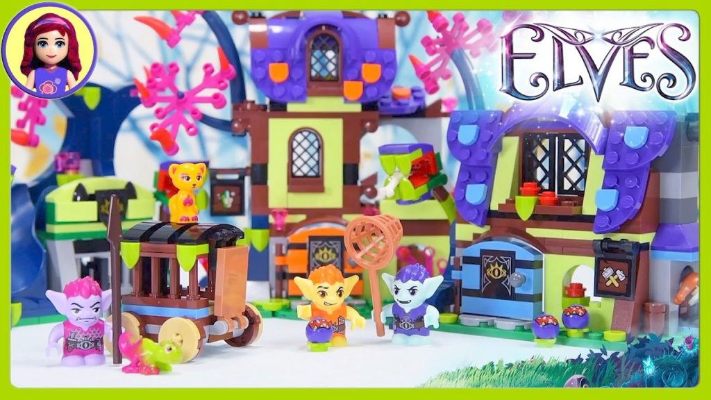 Lego Elves Magic Rescue from the Goblin Village Build Review Silly Play – Kids Toys