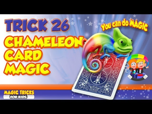 Double Color Changing Card Trick Revealed – Self working easy to make magic