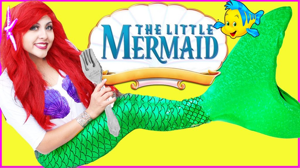 The Little Mermaid TOYS video kids Magic monday Disney Princess Ariel Elsa juguetes