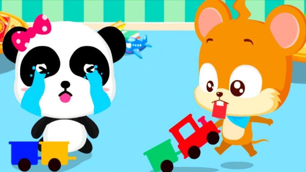 Baby Panda Games – Kids Fun Playful & Learn The Magic Polite Words – Fun Educational Babybus Games