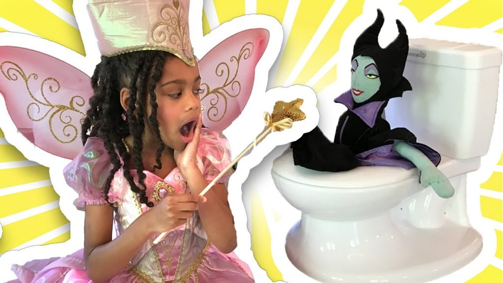 Bad Baby Maleficent Messy Toilet Magic Toys Transformation