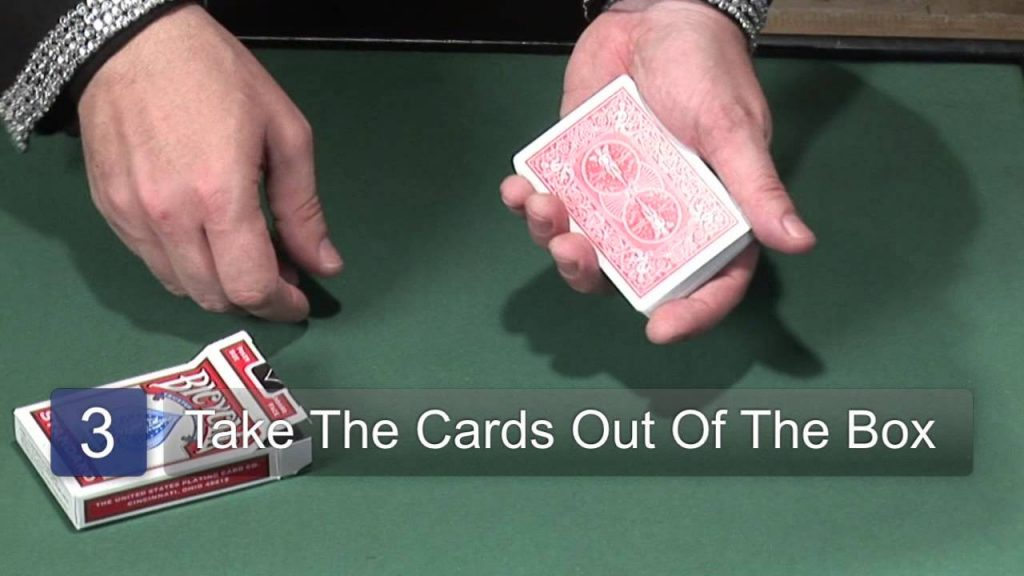 Hindu Color Change Magic Card Trick : Magic Card Tricks