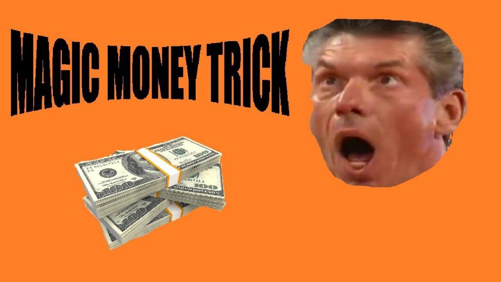MAGIC MONEY TRICK