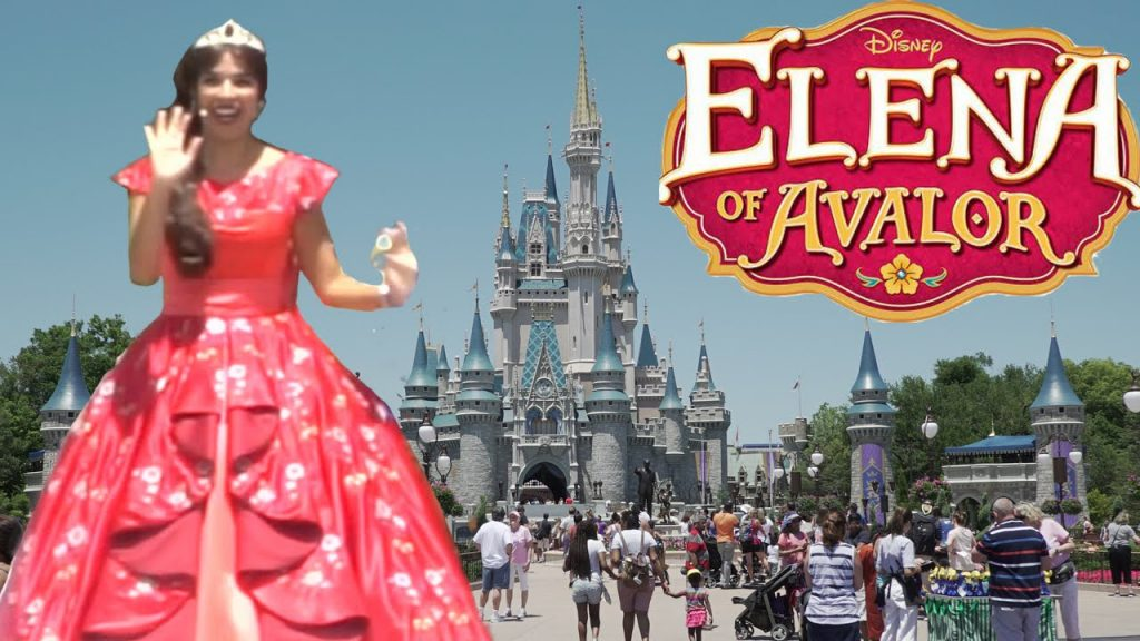 Kids Magic Teleportation to see Elena of Avalor in real life Sing Songs | Disney Princess
