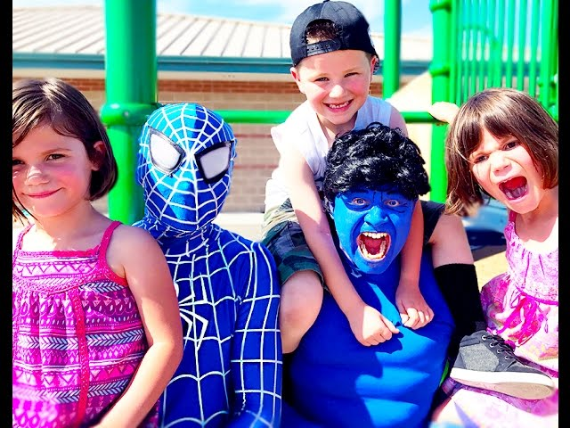 Blue Hulk & Blue Spiderman Real Life Magic Potion | Kids Movie In Real Life