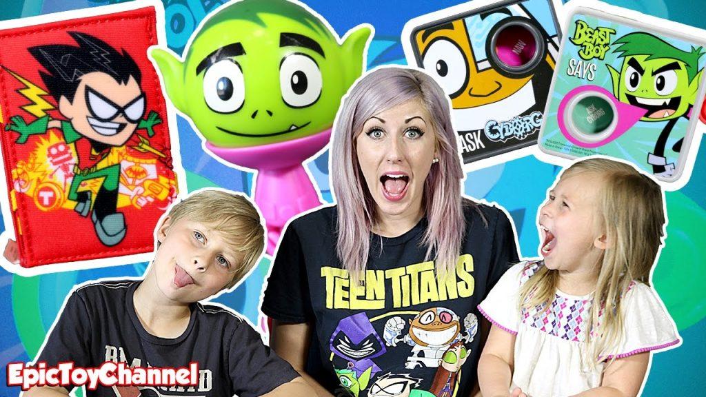 SURPRISE TOYS MAGIC Teen Titans Go Toys Kids Meal Surprise = Full Set Cartoon Network Teen Titans Go