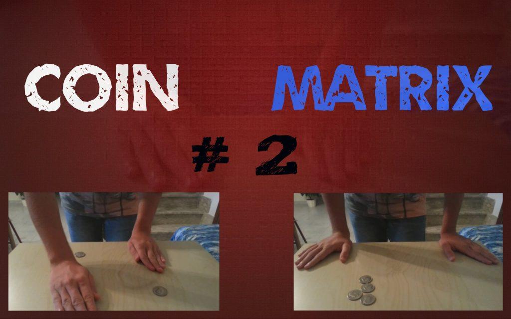 Coin Matrix 2 [ Kevin Martino ] Magic Coins Trick