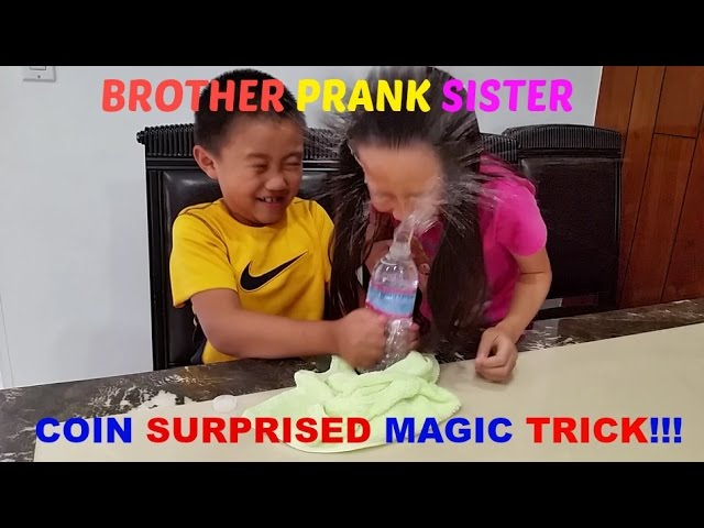 Exploding Water Bottle Prank – Coin Surprised Magic Trick! Exposed Humour Comedy
