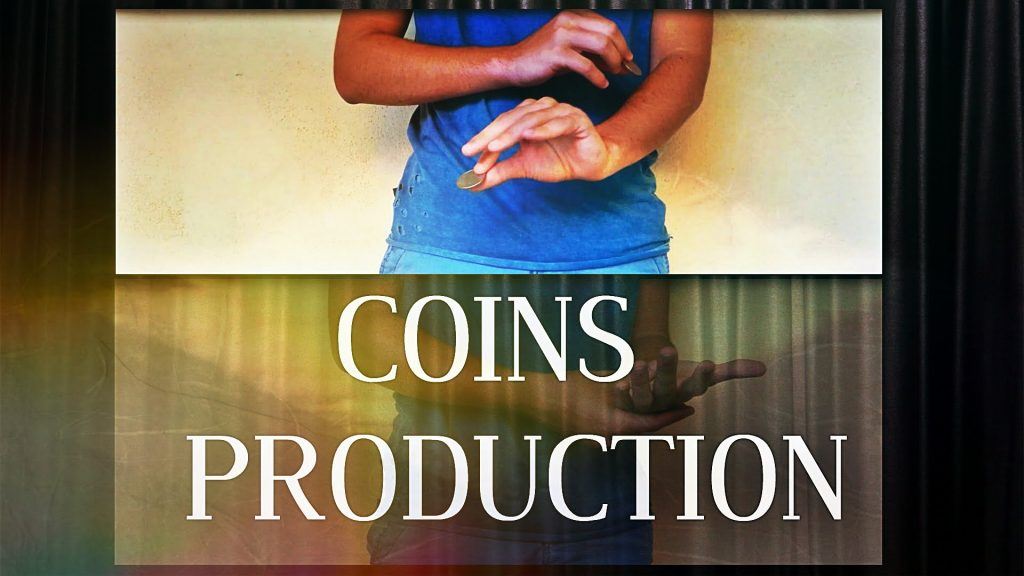 COINS PRODUCTION :: Kevin Martino :: Metal 2 by Eric Jones / magic coins manipulation /