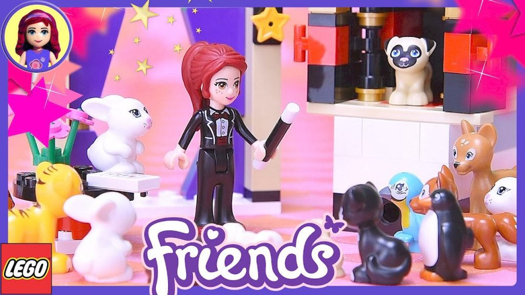 Lego Friends Mia's Magic Tricks Build Review Silly Play – Kids Toys