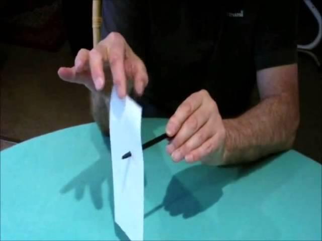 PEN THROUGH PAPER – Easy Kids Tricks