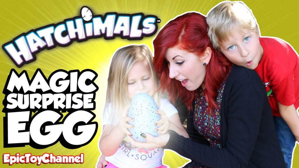HATCHIMALS New Magic Surprise Egg Opening Kids Toy Review In Real Life by Epic Toy Channel