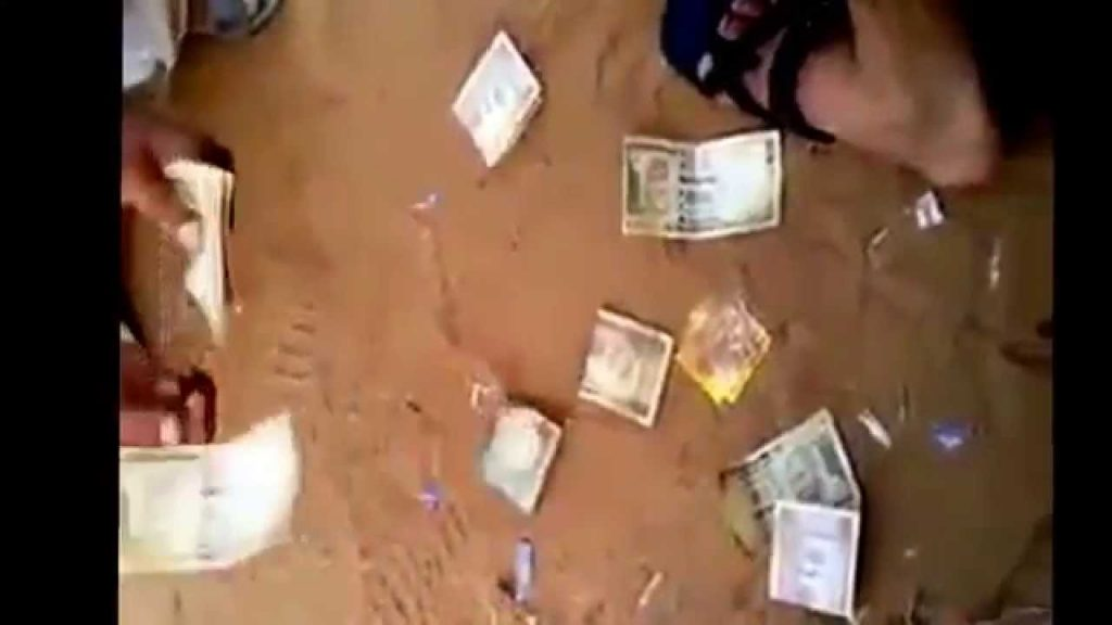 Money magic trick