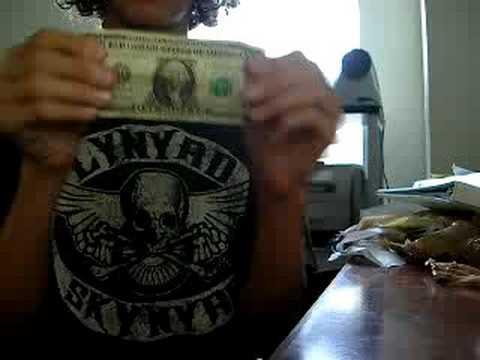 Coins Outta Dollar Bill Magic Trick!!!