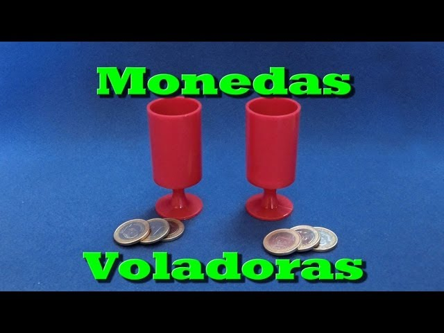 Magia Review: Monedas Voladoras (Magic trick: Flying coins)