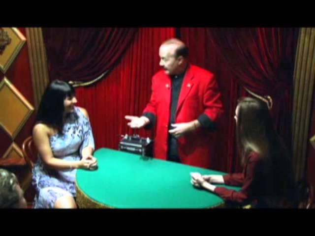 Bob Bolivar at the Magic Castle – 3 fly coins