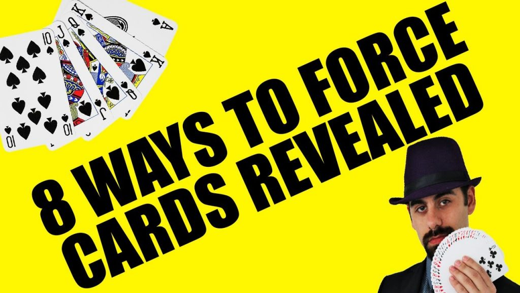 8 Professional Ways to Force Cards – Magic Tricks REVEALED