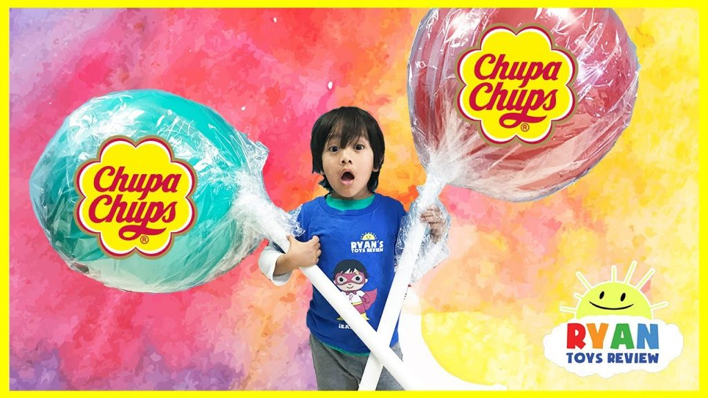 World's Largest Giant Chupa Chups Lollipops Magic Transform Candy! Kids Pretend Playtime Family Fun
